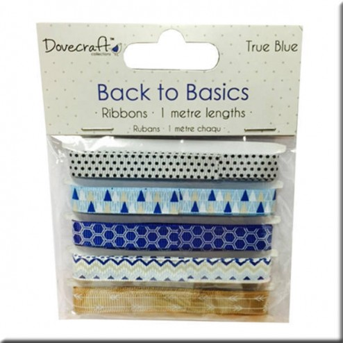 Cintas de Grosgrain - Back to Basic True Blue