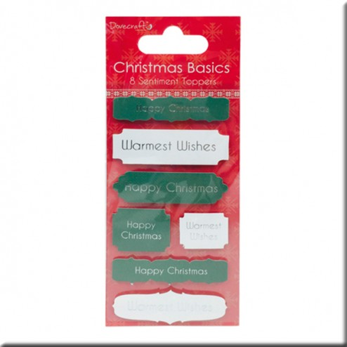 Adhesivos Happy Christmas - Christmas Basics
