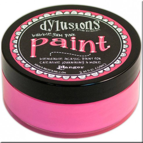 Dylusions Paint Bubblegum Pink