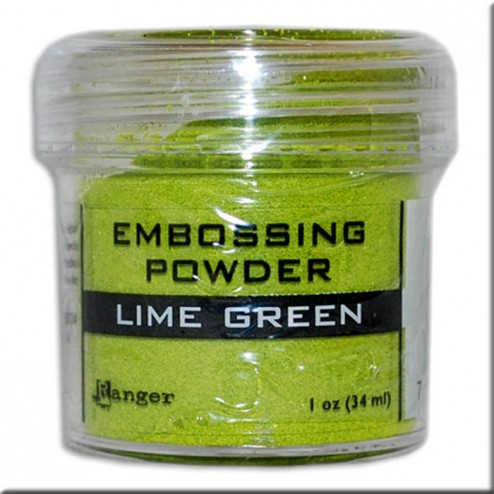 Polvo Embossing - Lime Green