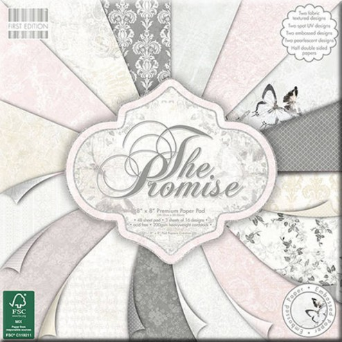 Papeles Scrapbooking - The Promise (20x20)