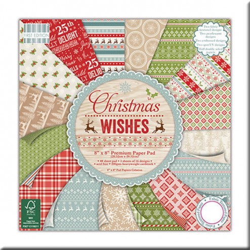 Papeles Scrapbooking – Christmas Wishes (20 x 20)