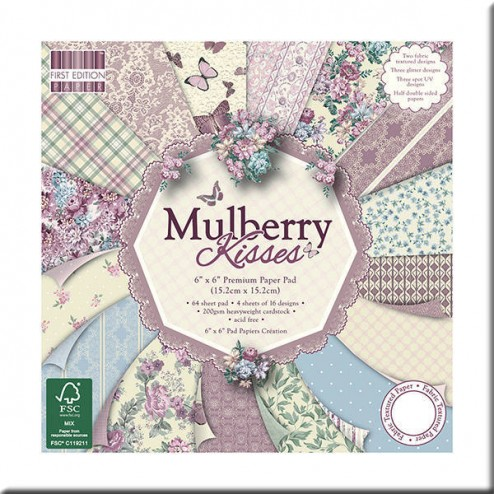 Papeles Scrapbooking - Mulberry Kisses (15x15)