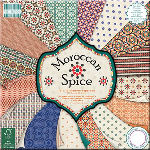 Papel Scrapbooking - Moroccan Spice (30 x 30)
