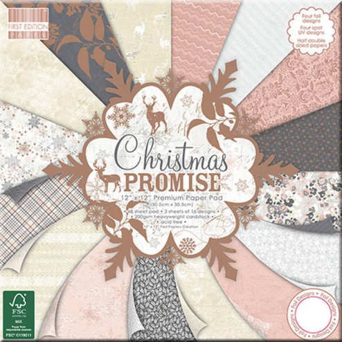 Papeles Scrapbooking Christmas Promise (30 x 30)