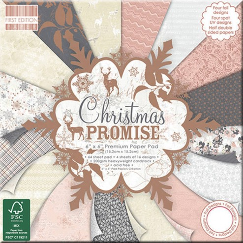Papeles Scrapbooking Christmas Promise (15 x 15)