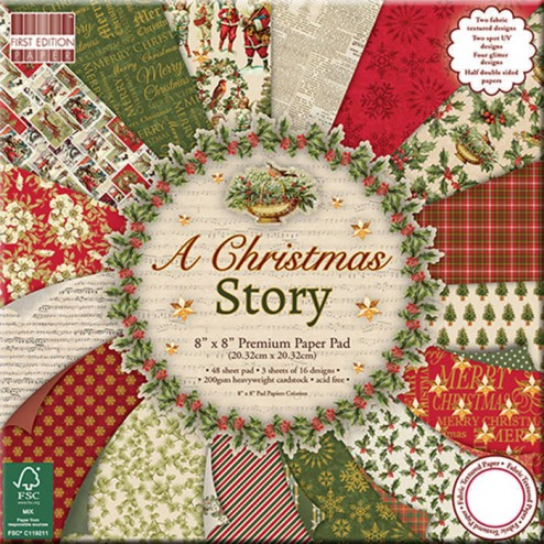 Papeles Scrapbooking A Christmas Story (20 x 20)