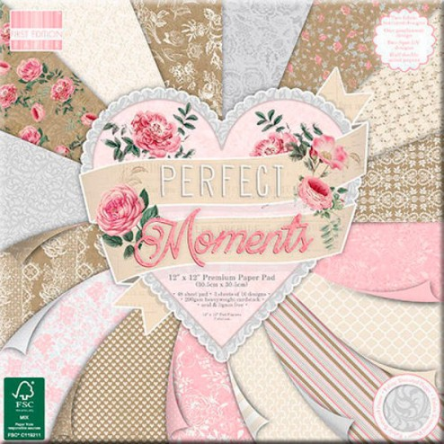 Papeles Scrapbooking Perfect Moments (30 x 30)