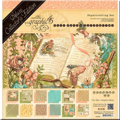 Set Graphic 45 Deluxe Once Upon a Springtime (30x30)