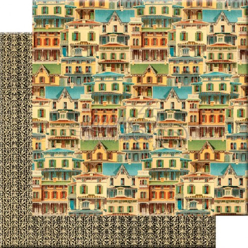 Papel Scrap This Old House (30x30) Artisan Style