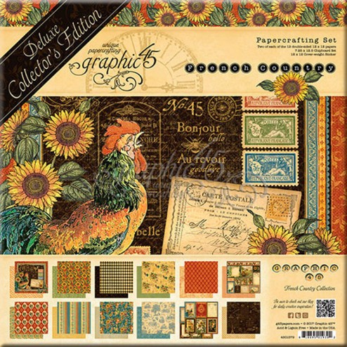 Set Graphic 45 Deluxe French Country (30x30)