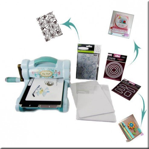 Kit Big Shot Blue & Teal - Esencial abedulart