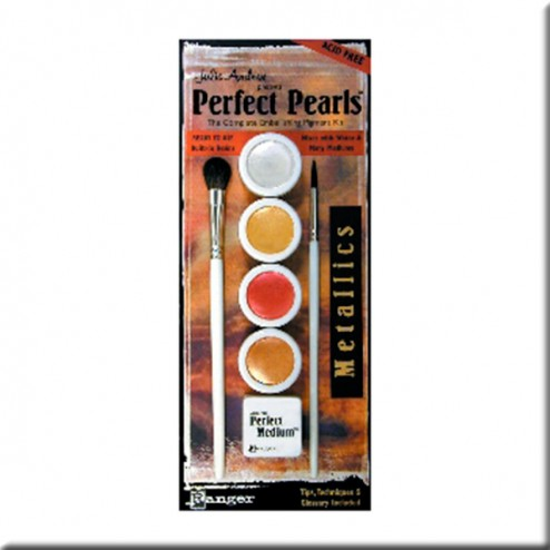 Kit Perfect Pearls - Colores Metálicos