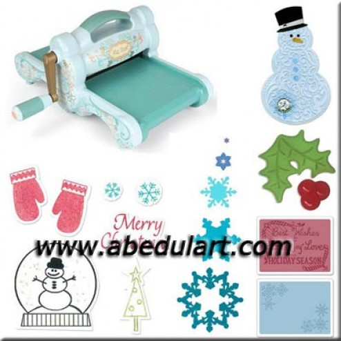 Kit Big Shot Blue & Teal - Feliz Navidad