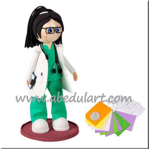 Kit de Fofucha Doctora