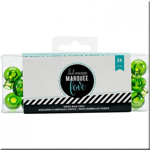 Marquee Love - Protector LED Verde (17 mm)