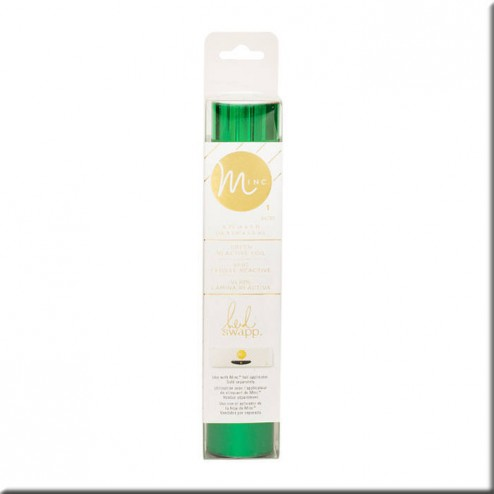 Papel Foil Hot Green - Minc