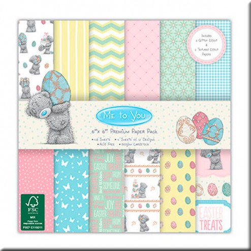 Papeles Scrapbooking - MTY Easter (15x15)