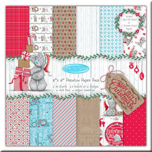Papeles Scrapbooking - Me to You Christmas (20 x 20)