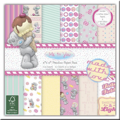 Papeles Scrapbooking Me to You Sweet Shop (15x15)