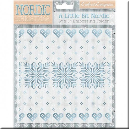 Carpeta Embossing - A Little Bit Nordic