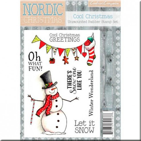 Sellos Cool Christmas Nordic Christmas