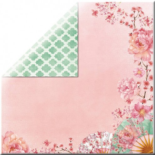 Papel Scrapbooking - Delicate - Cherry Blossom (30 x 30)