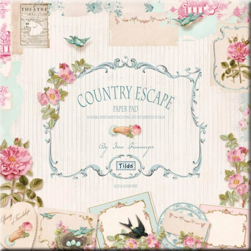 Papeles para Scrapbooking Country Escape - Tilda (30,5x30,5)
