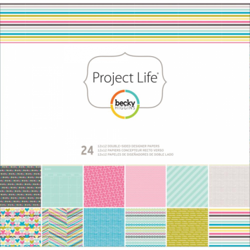 Papeles Scrapbooking Blush Edition (30,2x30,5) - Project Life