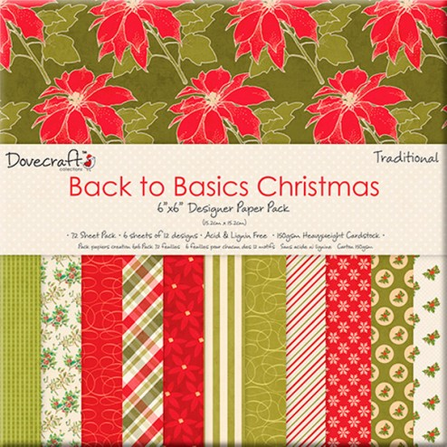 Papeles Scrapbooking - Christmas Traditional (15x15)