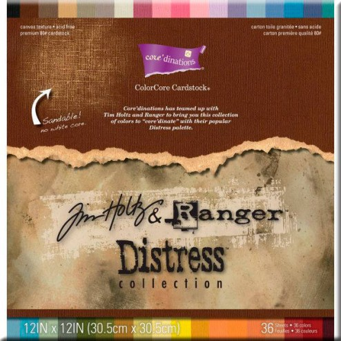 Papeles Scrapbooking - Distress Collection (30,5 x 30,5)