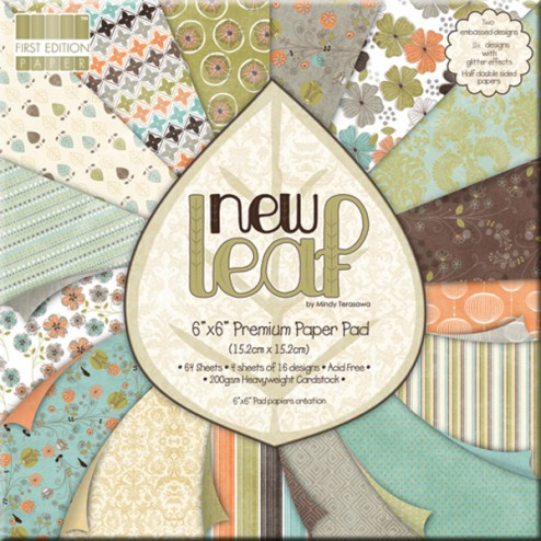 Papeles Scrapbooking - New Leaf (15x15)
