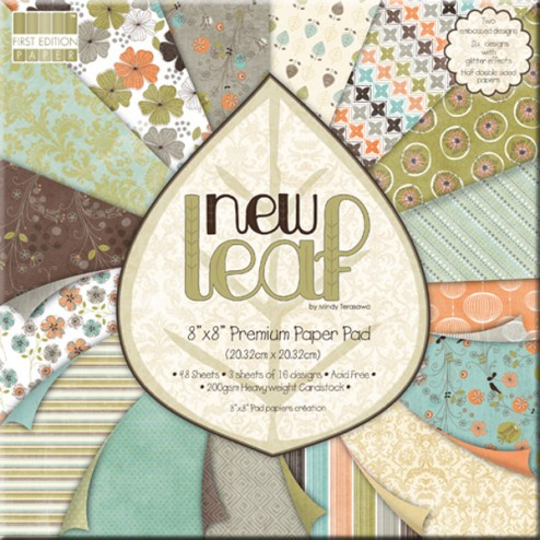 Papeles Scrapbooking - New Leaf (20x20)