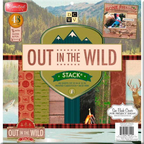 Papeles Scrapbooking - Out in the Wild