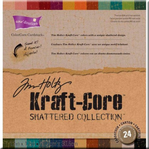 Papeles Scrapbooking - Shattered Collection (30,5 x 30,5)