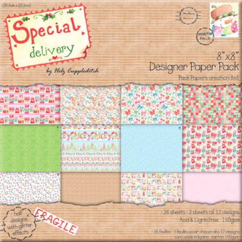 Papeles Scrapbooking - Special Delivery (20x20)