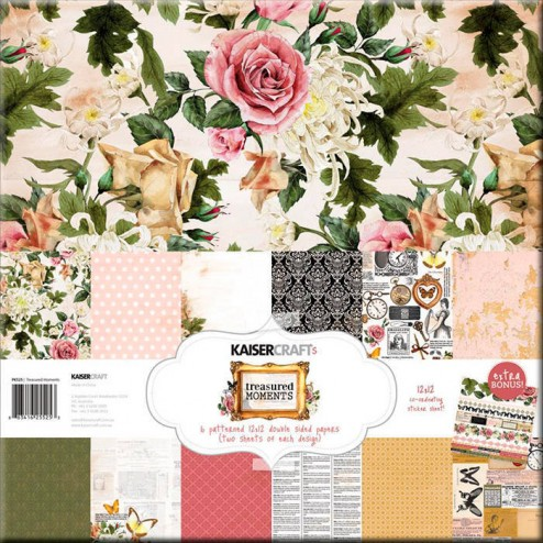 Papeles Scrapbooking - Treasured Moments (30 x 30)