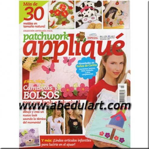 Revista – Patchwork appliqué Nº03