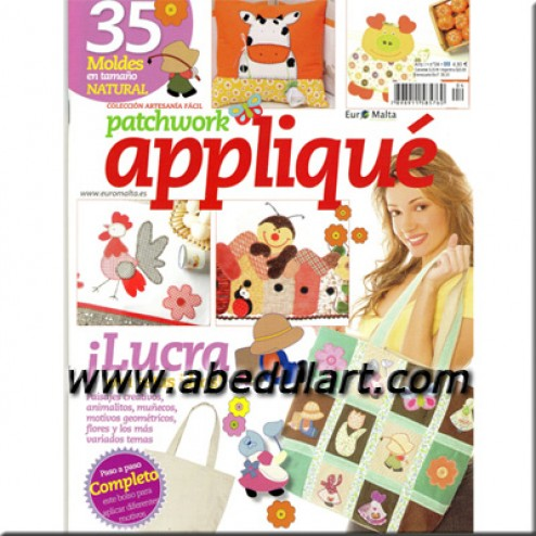 Revista – Patchwork appliqué Nº04