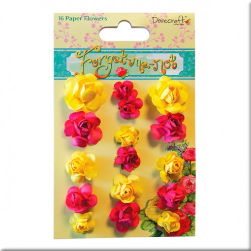 Rosas de papel - Dovecraft Forget Me Not