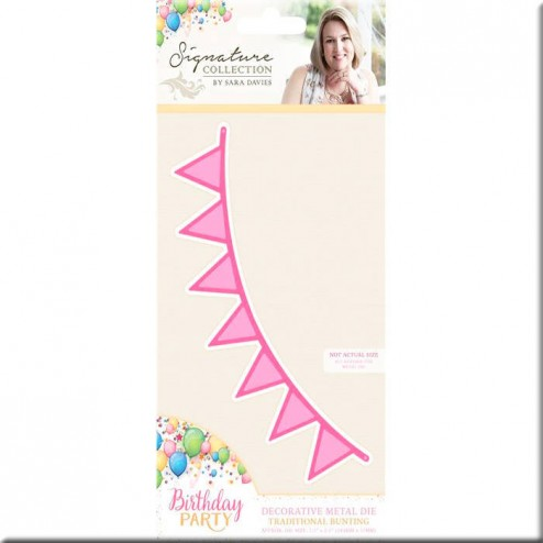 Troquel Traditional Bunting Birthday Party
