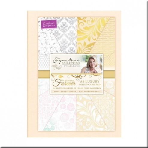 Papeles Scrapbooking Luxury Foiled (A4)