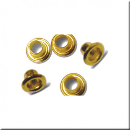 Scrapbooking - Remaches color oro (8 mm)