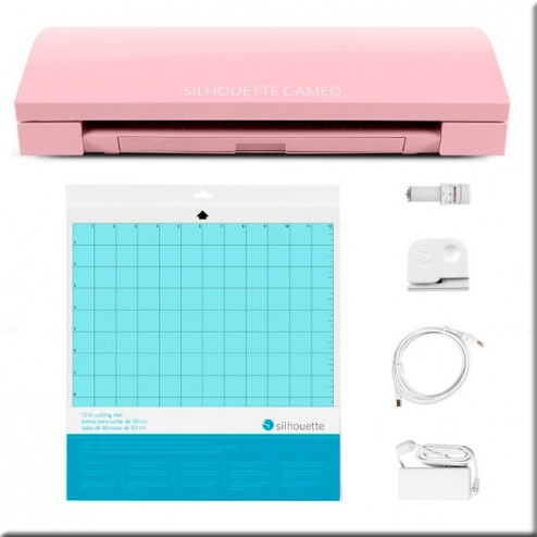 Silhouette Cameo 3 Blush Pink Glitter