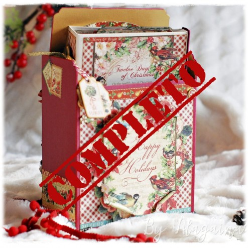 Reserva Taller de Scrap: Twelve Days Of Christmas (1 de diciembre)