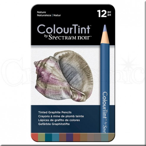 Set 12 Lápices ColourTint Spectrum Noir Naturaleza