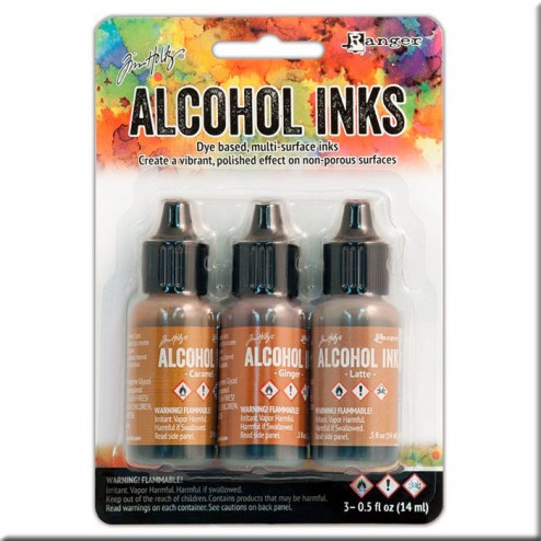 Set de Tintas Alcohol Ink Cabin Cupboard
