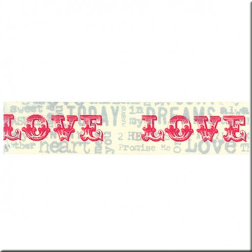 Washi Tape - LOVE