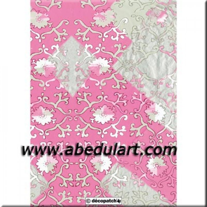 Papel d copatch rosa con motivos color m rmol for Color marmol rosa