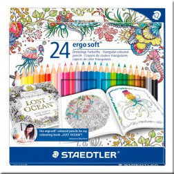 Lápices de Color Ergo Soft Staedtler (caja de 24)